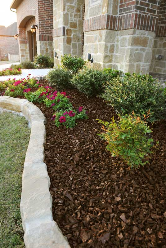 for Different color rocks for landscaping